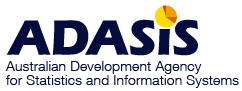 Australian Development Agency for Statistics and Information Systems logo