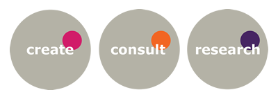 Create Consult Research logo