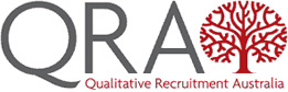 Qualitative Recruitment Australia logo